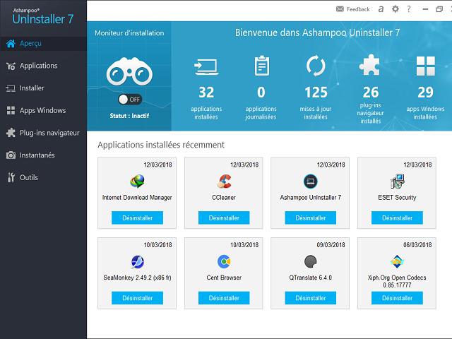 تحميل برنامج حذف البرامج من جذورها Ashampoo Uninstaller 7 آخر إصدار