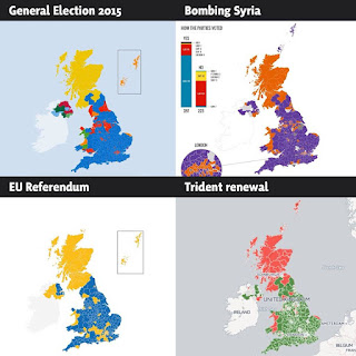 Voting patterns UK