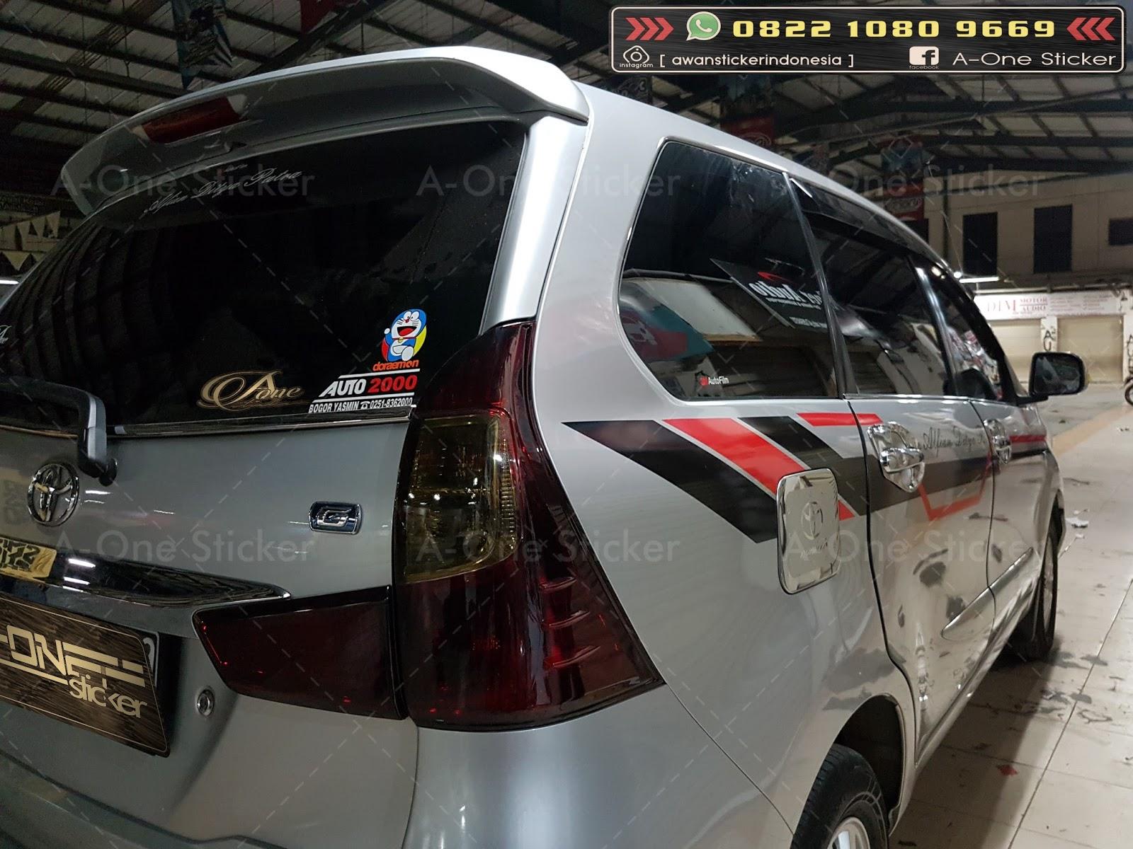 Cutting Sticker Grand New Avanza Toyota All Innova Venturer Mobil Modifikasi Depok Jakarta