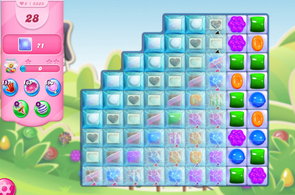 Candy Crush Saga level 6325