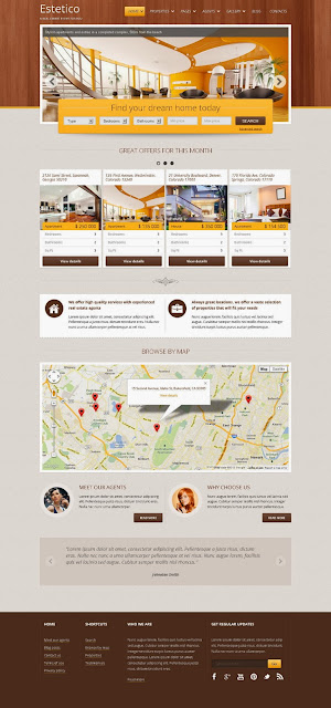 Premium Real Estate WP Theme