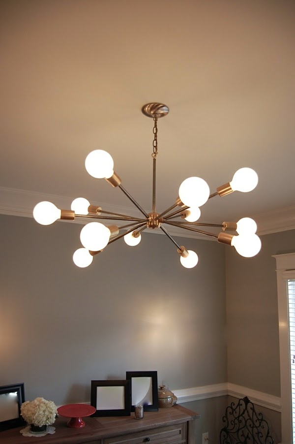 Striking living room lighting ideas and ceiling lights for Dining room ceiling lighting ideas