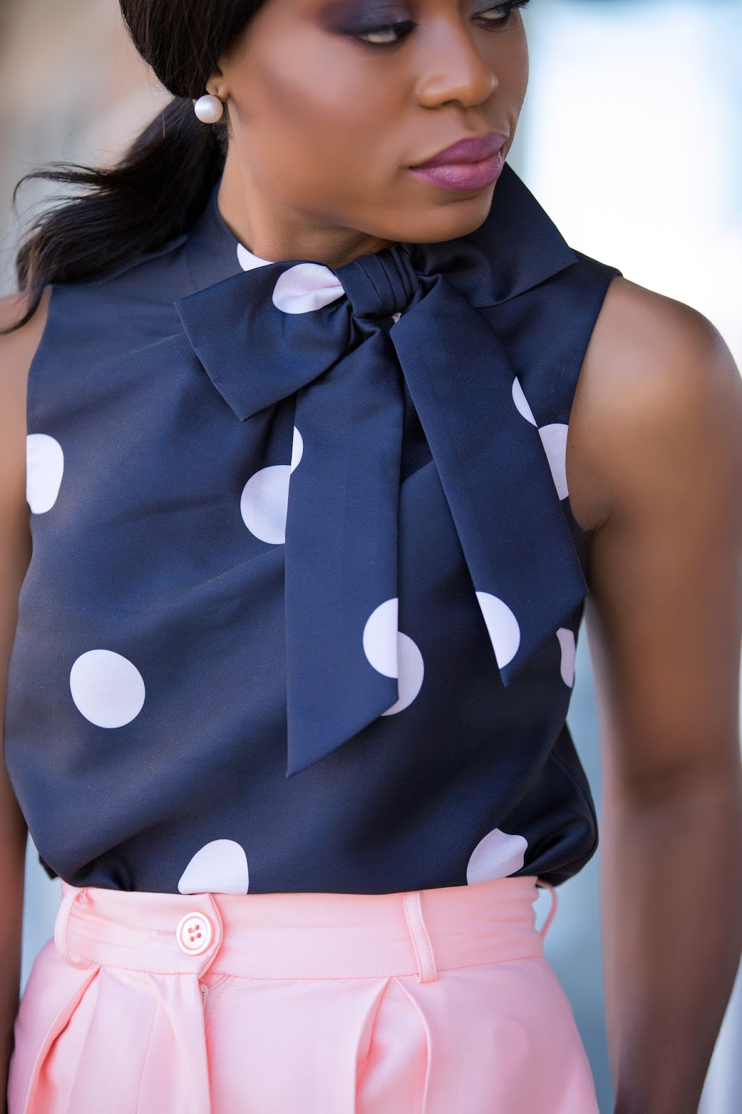 kate spade polka dot, www.jadore-fashion.com