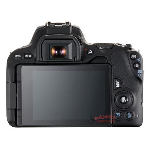 Canon EOS 200D, вид сзади