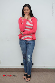 Telugu Actress Mouryani Latest Pos in Blue Denim Jeans  0219.JPG