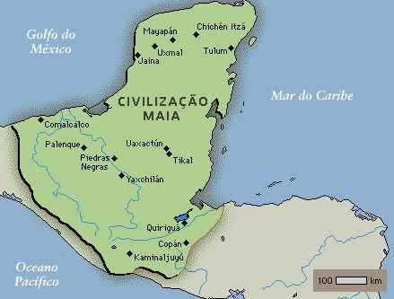 Civilização Maia e Seu Domínio na América Central