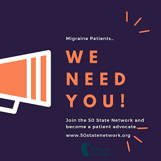 50 state network, cgrp, migraine