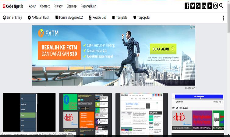 Membuat Slot Iklan Adsense Billboard Dengan Tombol Show Hide Ad Untuk Blog AMP HTML