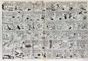 Crossover de Anacleto Pandehigo con otros personajes de Pulgarcito en el nº 51