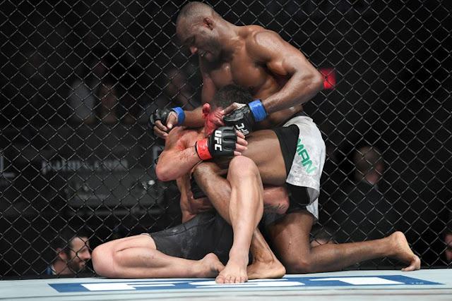 Kamaru Usman Def. Rafael Dos Anjos Dominantly With UD.