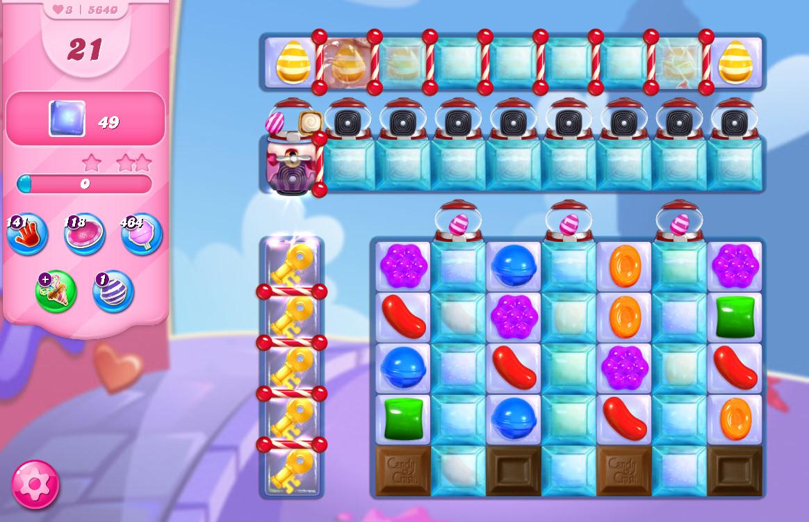 Candy Crush Saga level 5640