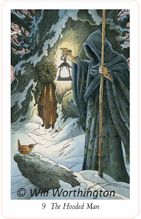 The Wildwood Tarot, The Hooded Man