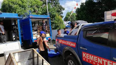 Pemprov Sulut Kirim Bantuan Untuk Korban Gempa-Tsunami di Sulawesi Tengah