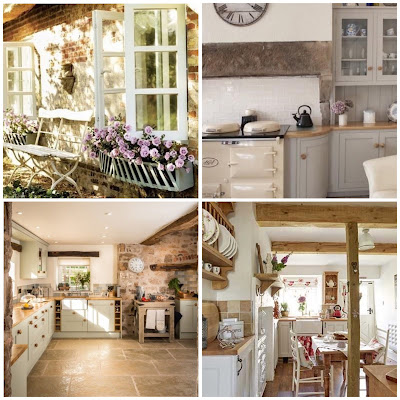 Vintage country cottages