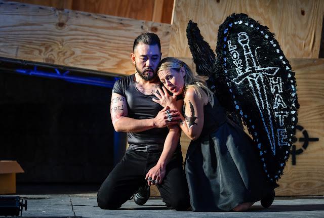 Antonio Yang, Inga-Britt Andersson - Wagner: Der fliegende Höllander - Heidenheim Opera Festival (photo Oliver Vogel)