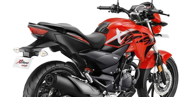 New 2018 Hero Xtreme 200R Rear side view
