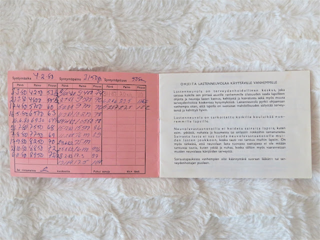 neuvolakortti pituus ja paino 1980-luku