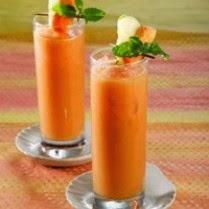 Resep Minuman Segar Jus Apel Pepaya