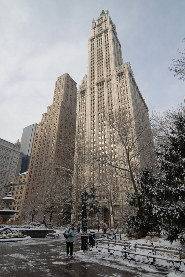 New picture of the Woolworth Building, New York City