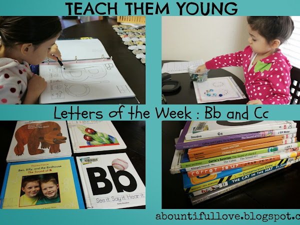 Letters of Week : Bb and Cc