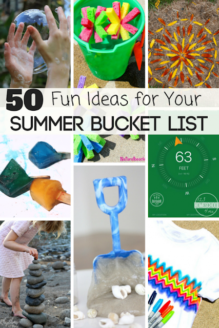 50 Fun Ideas for Your Summer Bucket List