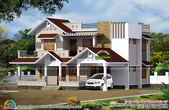 2370 sq-ft vastu home modern style