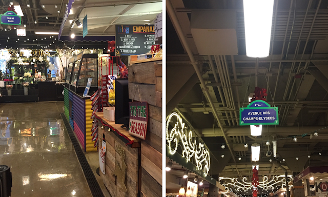 Booths and lovely accents entice exploration at the Chicago French Market!