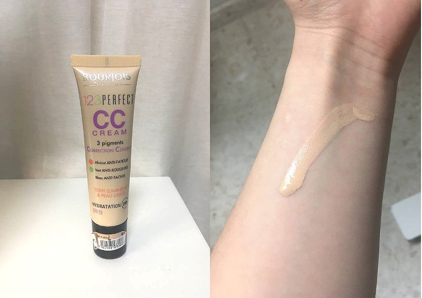 Bourjois 123 Perfect CC Cream 31 Ivory -  REVIEW foundation makeup skintone