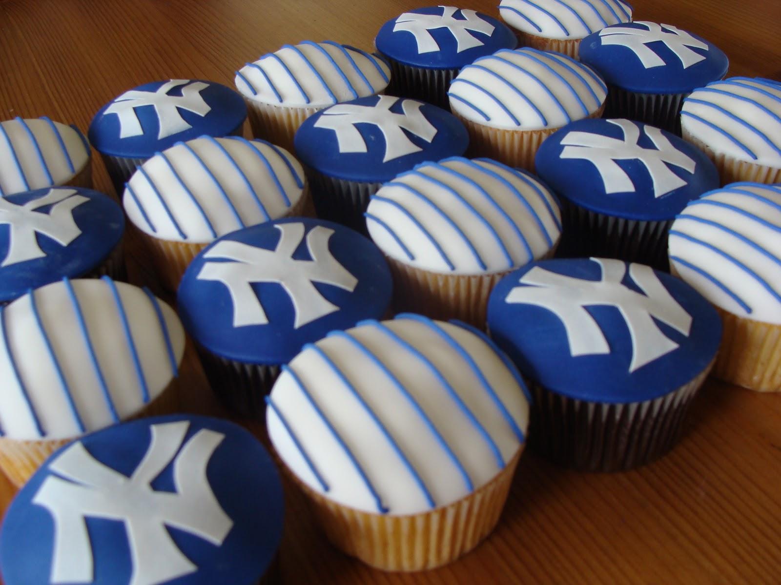 Sweet Treats By Bonnie Yankees Cupcakes