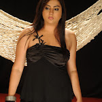 Namitha in Tight Black Dress Spicy Photo Set