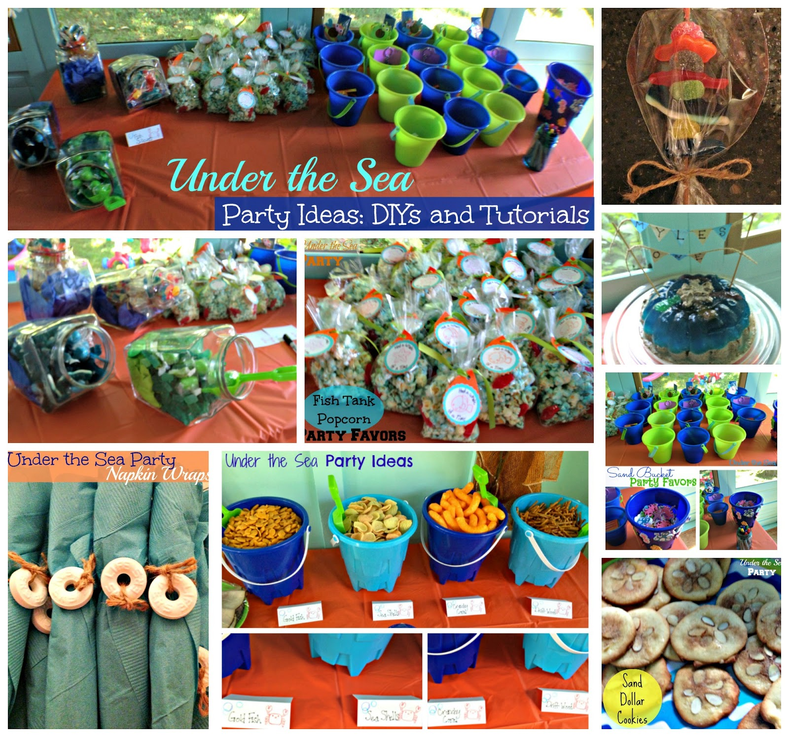 The Everyday Momma First Birthday Under The Sea Food