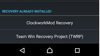 Install CWM and TWRP Recovery