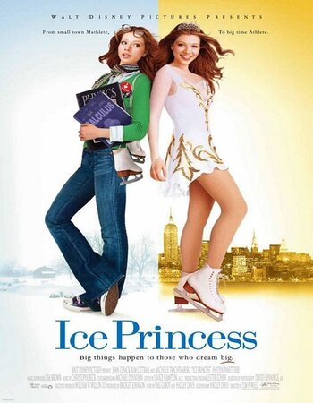 Ice Princess (2005) Dual Audio 720p WEB-DL [Hindi - English] ESubs