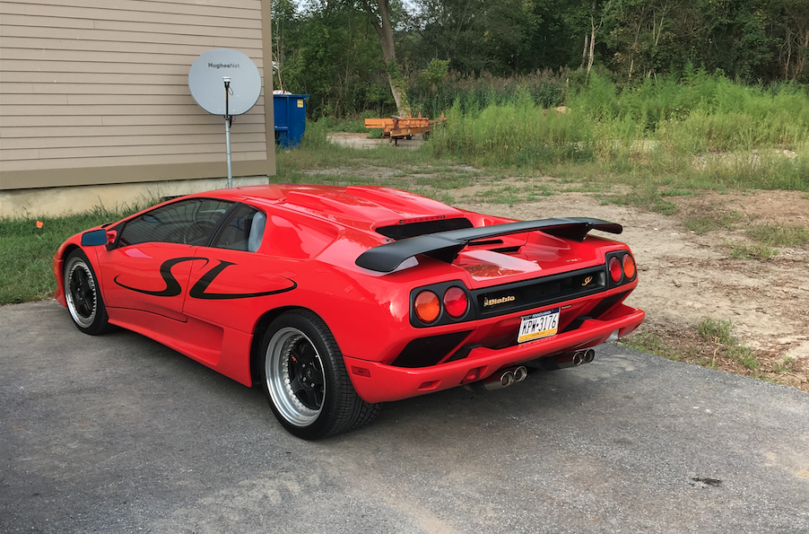 Delaware Exotics More Of Lamborghini Diablo Sv