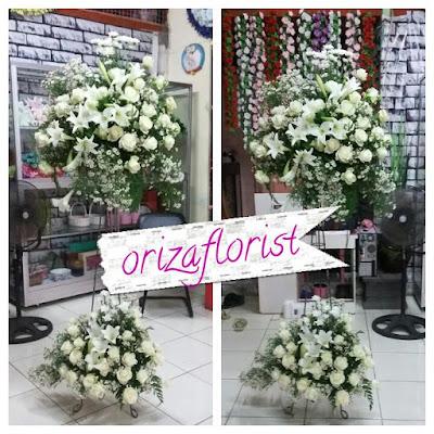 standing flower surabaya, karangan bunga surabaya