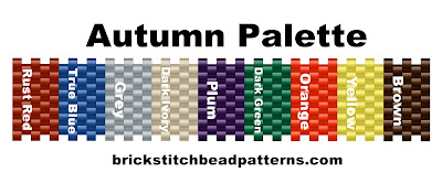 basic seasonal bead color palette