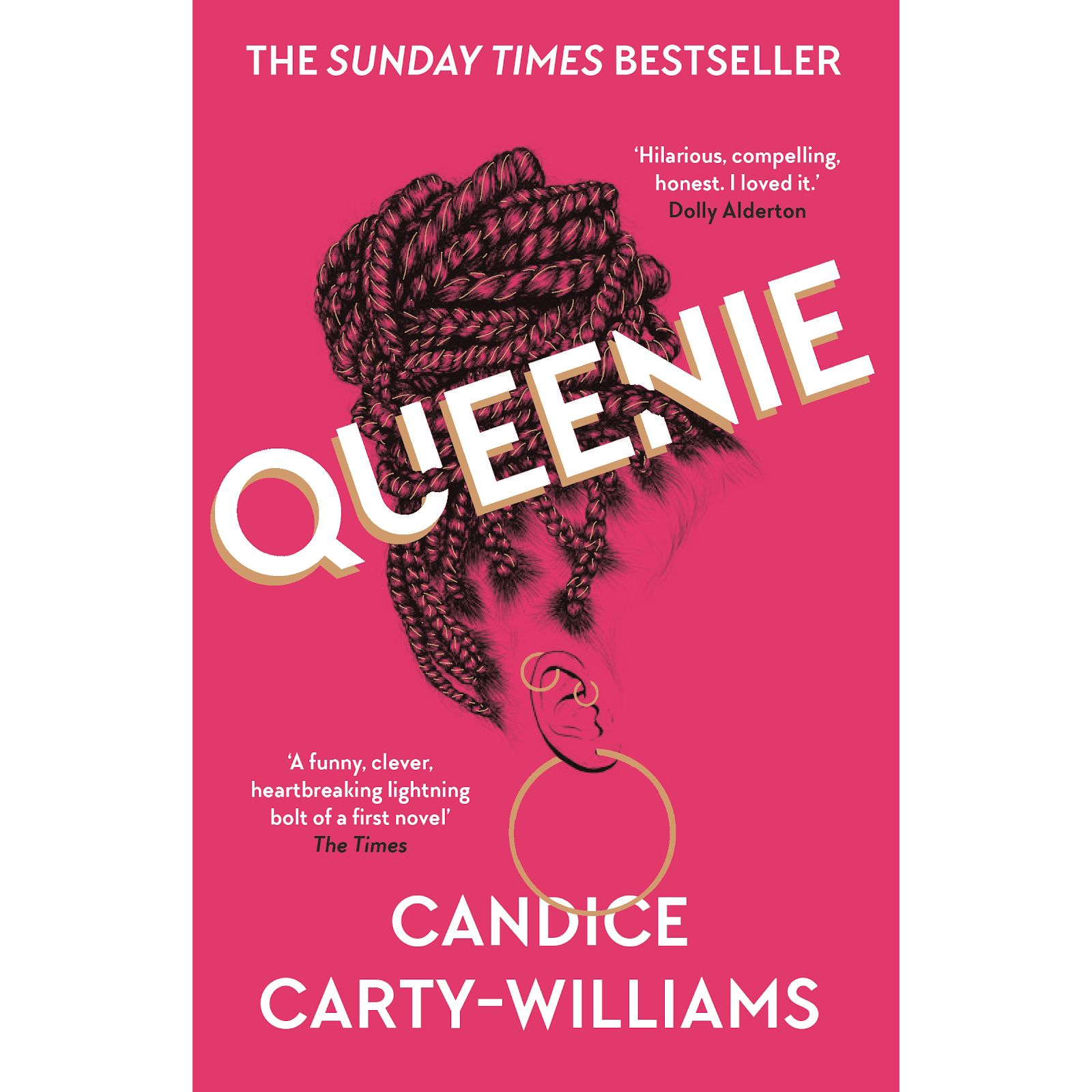 Book cover for Queenie by Candice Carty-Williams Queenie in the South Manchester, Chorlton, Cheadle, Fallowfield, Burnage, Levenshulme, Heaton Moor, Heaton Mersey, Heaton Norris, Heaton Chapel, Northenden, and Didsbury book group