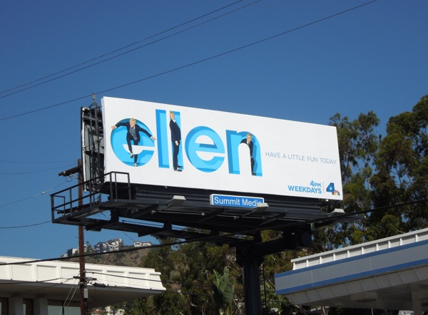 Ellen season 12 billboard