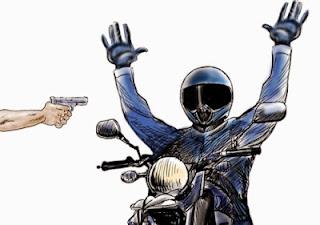 Resultado de imagem para moto tomada em assalto