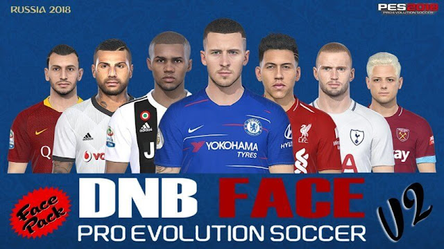 New Face Pack V2 PES 2018
