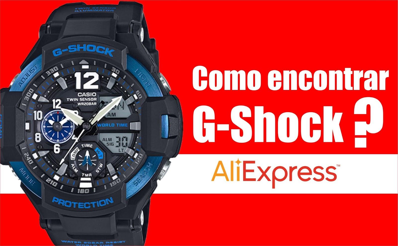 b973896c34d COMO COMPRAR RELÓGIO CASIO G-SHOK DO ALIEXPRESS - Dicas Poderosas ...