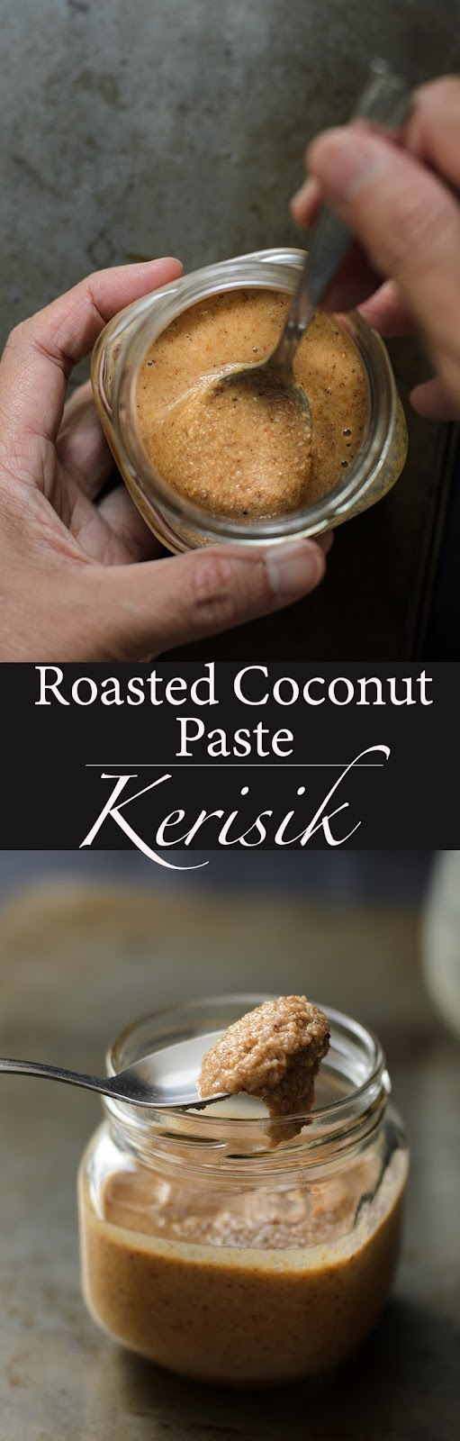 A short video on how to make roasted coconut paste known as kerisik in Malay, using microwave oven. Roasted coconut paste or Kerisik is widely used in Malaysian cooking.  Roasted coconut paste gives a nutty creamy taste to any dishes.