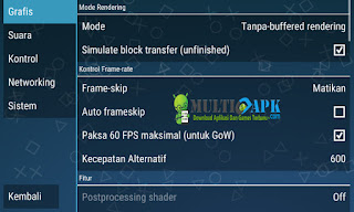 Cara Settingan Game PES 2016 Emulator PPSSPP di HP Android