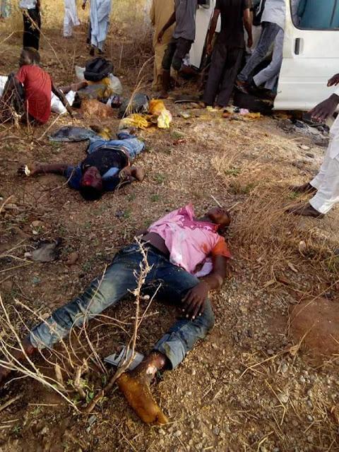 Graphic photos: Scores killed in fatal auto crash along Gusau-Zaria road