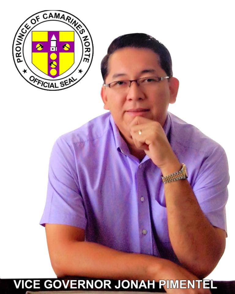 Cam Norte Vice Gov  Pimentel is now acting governor - BICOL