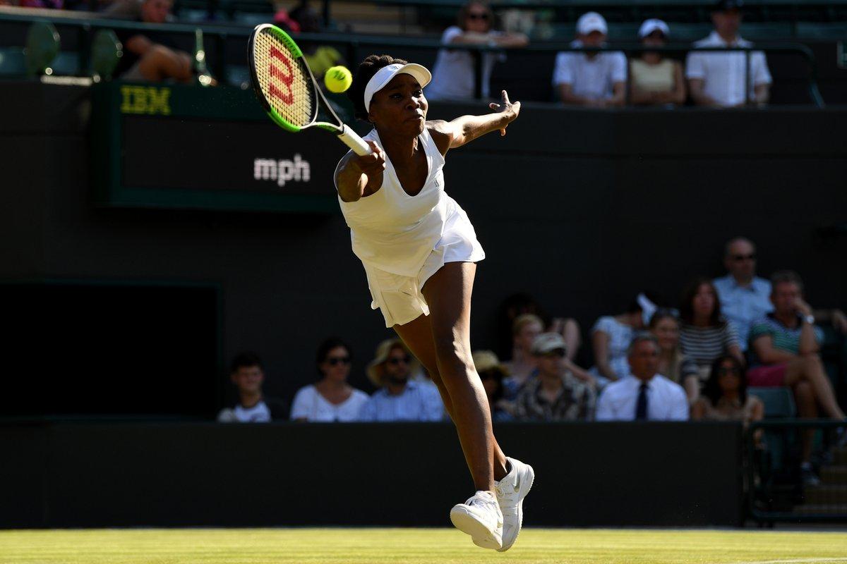 five-time champion Venus Williams  defeat Wang Qiang 4-6, 6-4, 6-1 to reach 3 round at Wimbledon