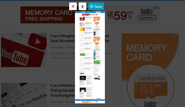 Cara Screenshot Panjang di Komputer Tanpa Software Tambahan