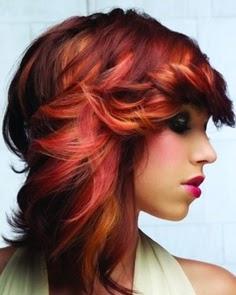 Medium length Hair Styles For Women Over 40}
