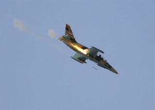 Pesawat Jet Tempur Milik Suriah Serang Lembah Dekat Damaskus