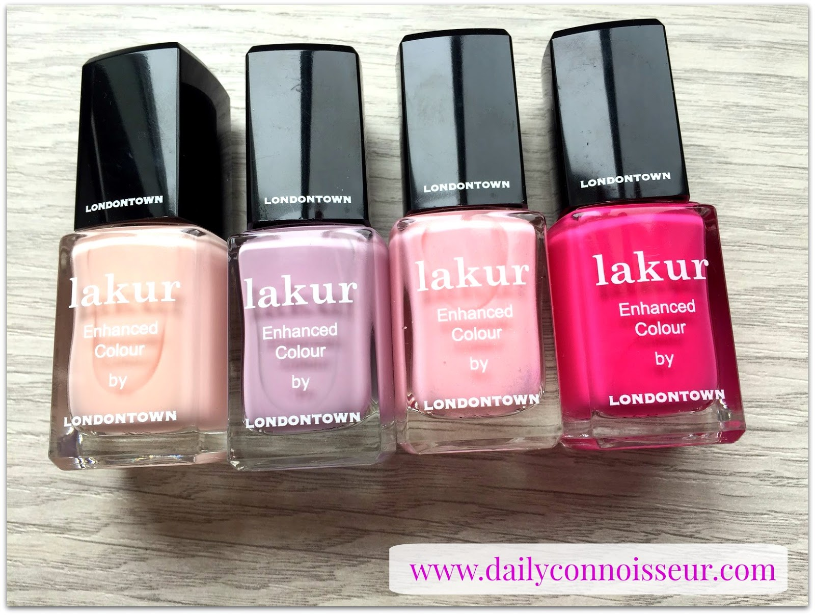 The Daily Connoisseur: LondonTown 9-Free Nail Polish Summer 2017 ...
